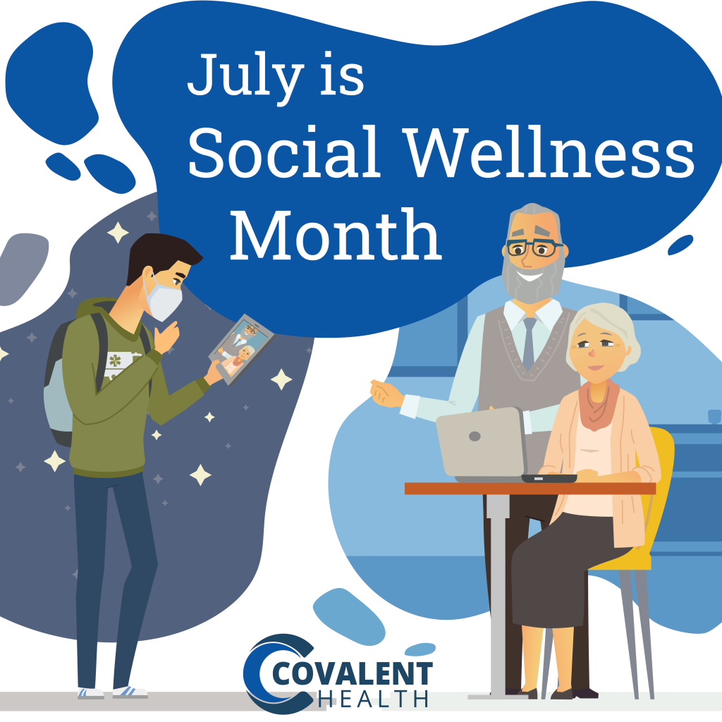Covalent Health Social Wellness Month