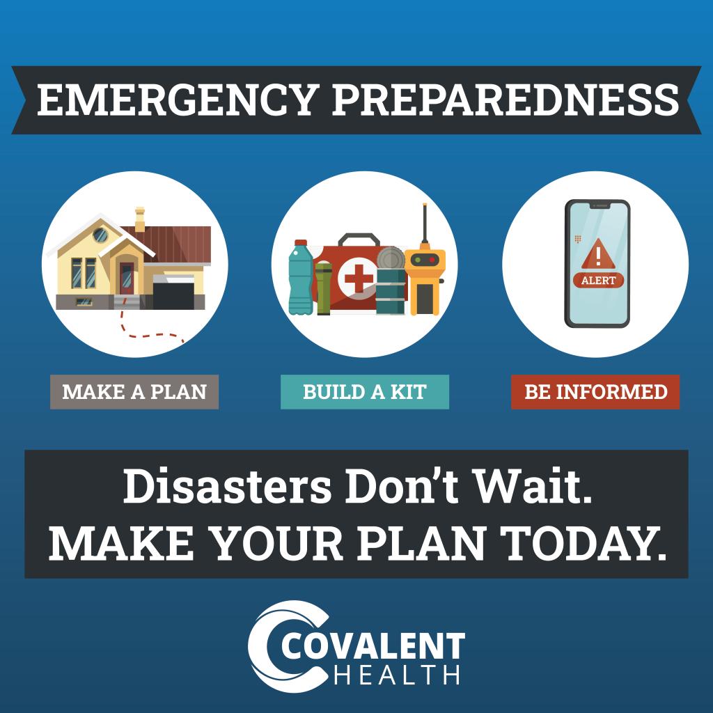 Covalent Health Disaster Preparedness Month